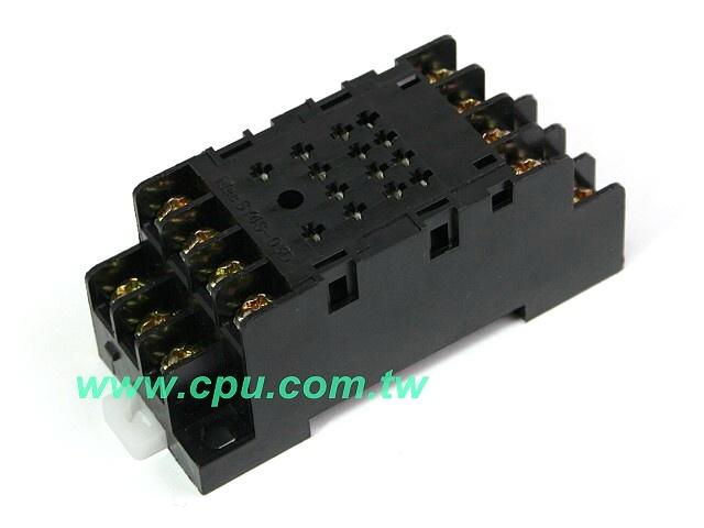 4p 14pin配线式继电器座(ul)