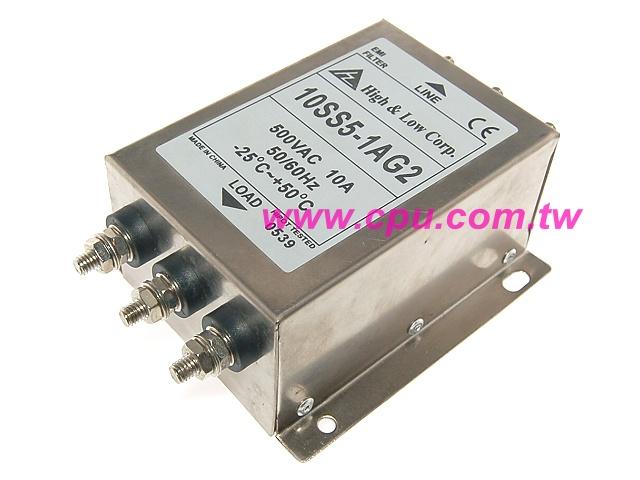 三相三线60a 500v电源滤波器