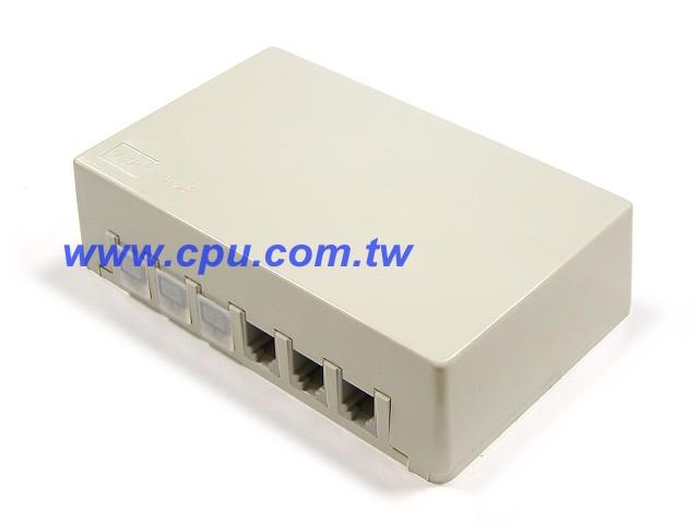 6p4c x6 电话接线盒