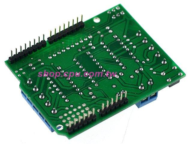 arduino 直流/步进/伺服马达 驱动模组
