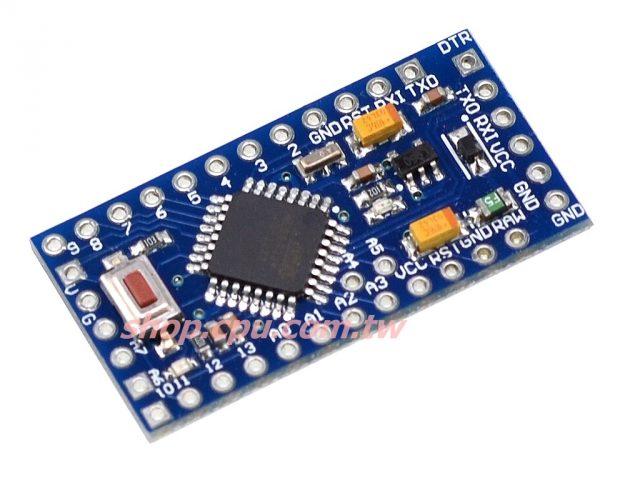 3v/8mhz arduino pro mini atmega328p 微控制器电路板