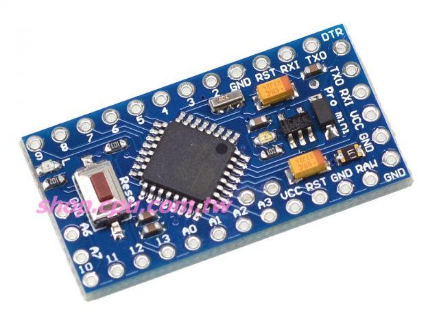 採用 Arduino Pro MINI ATMEGA328P 3.3V 8MHz  適用:3.3V MEMS 傳感器  控制晶片:ATMEGA328P  14個數位書入/輸出介面 Rx, Tx, D2~D3  8個模擬輸入介面 A0~A7  1對TTL電位串列收發介面Rx/Tx  6個 PWM介面, D3, D5, D6, D9, D10, D11  支援 串列埠下載  支援 9V電池供電  時脈頻率 8MHz  100%相容官方版本,100%重新手工優化佈線。  編程介面具有防反