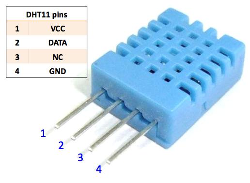 dht11温湿度传感器