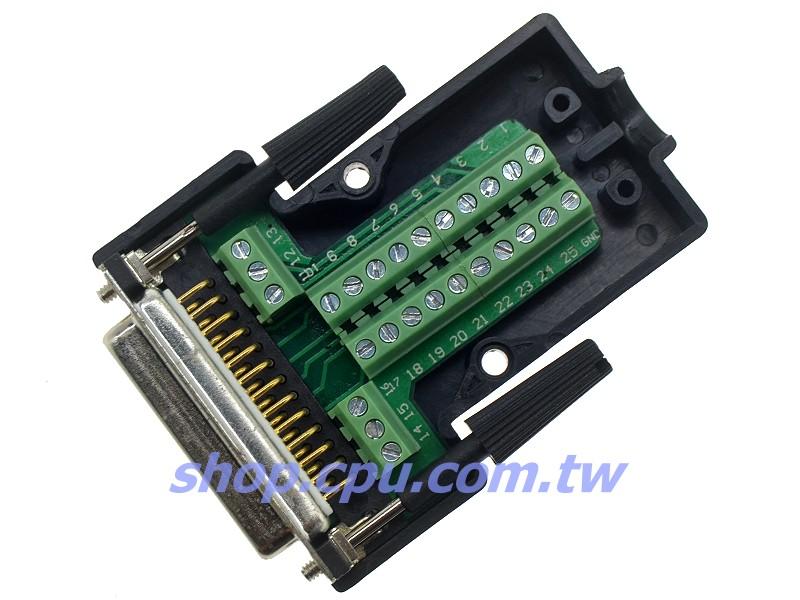 电路板上,有印刷与脚位相对应的数字,简单好用,支援接地线连接